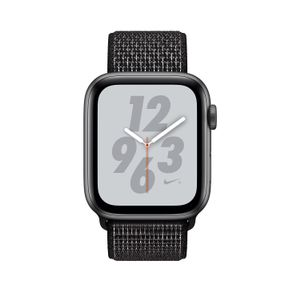 APPLE Watch Nike+ Series 4 GPS 40mm Space Grey Aluminium Case with Black Nike Sport Loop (MU7G2KS/A)