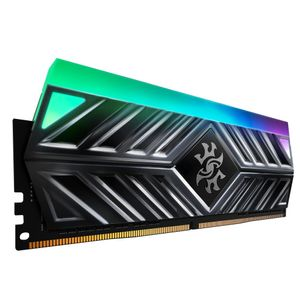 A-DATA XPG Spectrix D41 RGB RAM, 16GB, DDR4, 4500MHz, red (AX4U320038G16-DB41)