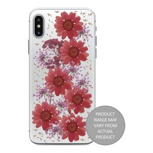 PURO iPhone Xs Max, Hippie Chic Fall cover, rød (IPCX65HIPPIEC3RED)