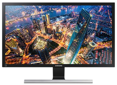 SAMSUNG 28IN UHD-TN 3840X2160 16:9 1MS U28E590D 1000:1 HDMI 2.0X2 DP1.2 IN (LU28E590DS/EN)