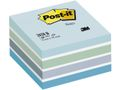 POST-IT Note kub POST-IT 76x76 mm /450 Pastelblå