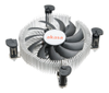 AKASA CPU cooler for LGA775/ 115X designed for mini-ITX (AK-CC7124EP01)