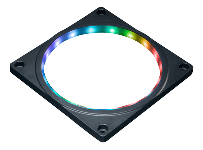 AKASA Adressable RGB LED Fan Frame Kit 120mm (AK-LD08-RB)