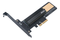 AKASA M.2 SSD to PCIe adapter card with heatsink cooler