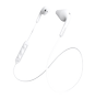 DEFUNC BT PLUS Hybrid hörlurar, in-ear, Bluetooth,  14mm, vit