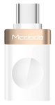 MCDODO compact USB-C to USB-A AF adapter, multi purpose, gold