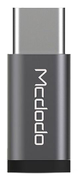 MCDODO compact MicroUSB to USB-C adapter, silver