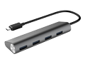 WINSTARS 4 Port USB 3.0 Type C HUB