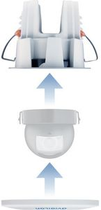 AVIGILON In-ceiling mount for H4M (H4M-MT-DCIL1)