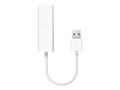 APPLE USB Ethernet Adapter for MacBook Air med ledig USB 2.0-port