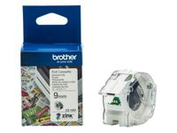 BROTHER VC-500W Labels Roll Cassette 9mm x 5m (CZ1001)