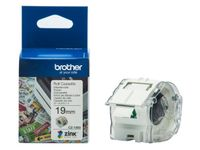BROTHER VC-500W Labels Roll Cassette 19mm x 5m (CZ1003)