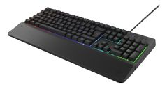 DELTACO GAMING Plunger (Semi mechanical) gaming keyboard, double injection keycaps.