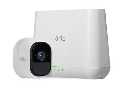 ARLO Pro rechargeable wireless 1HD security system camera with audio and siren (VMS4130-100EUS)