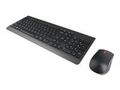 LENOVO Essential Wireless Keyboard and Mouse Combo Norwegian  (NO)