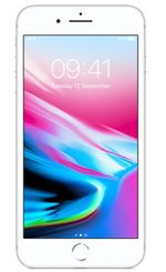 APPLE iPhone 8 Plus 256GB - Mobiltelefon - Sølv