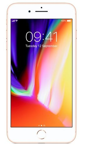 APPLE iPhone 8 Plus 64GB - Mobiltelefon - Gull (MQ8N2QN/A)