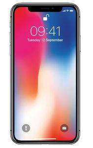 APPLE iPhone X - 64 GB - Grå (MQAC2QN/A)
