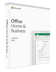 MICROSOFT OFFICE HOME AND BUSINESS 2019 P6 DANISH EUROZONE MEDIALESS     DK LICS (T5D-03306)