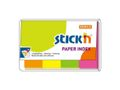 STICKN Stick'n Notes index 19x50mm 4 farver