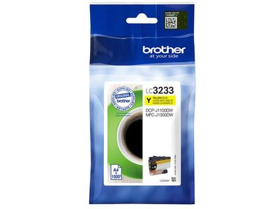BROTHER LC3233Y ink cartridge yellow 1.5K (LC3233Y)