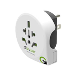 Q2Power QPLUX WORLD 5 in 1 Select slide connect