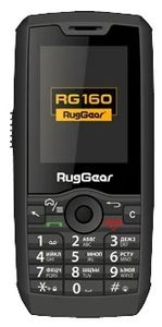 RUGGEAR RG160 Touch screen 512MB+4GB 2MP camera 900/ 1900/ 2100 mHz 3G Android (99301010)