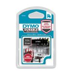 DYMO D1 tape Extra Strong 12mmx3m white/ black (1978365 $DEL)