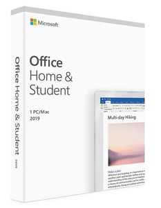 MICROSOFT OFFICE HOME/ STUDENT 2019 DN EUROZONE MEDIALESS               DK PKC (79G-05059)