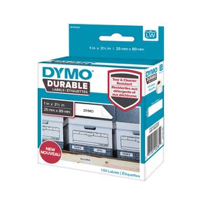 DYMO LW ADRESS LABEL WHITE 25X89MM 1 ROLL A 100 LABELS ACCS (1976200)