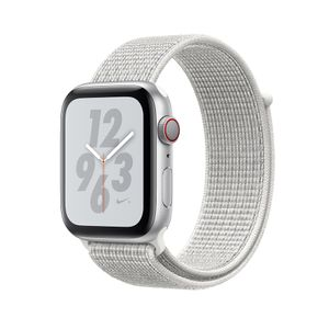 APPLE Watch Nike+ LTE 40mm Aluminiumgehäuse Silber Sport Loop Summit White (MTXF2FD/A)