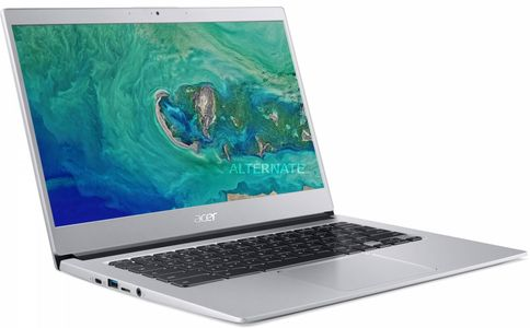 ACER CB514-1H-C3L2 N3450 14inch HD ComfyView 4GB DDR4 eMMC 32GB 802.11ac + BT HD CAM Pure Silver Chrome OS (NX.H4BED.003)