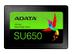 "A-DATA ADATA SSD Ultimate SU650 2.5"""""""""""" 960 GB, 960 GB, 2.5"""", Serial ATA III, 520 MB/s, 6000 Gbit/sek."