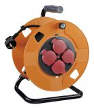 DELTACO IP44 cable reel 25m