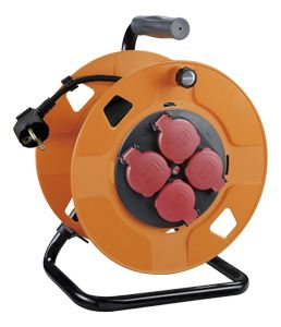 DELTACO IP44 cable reel 25m (GT-952)