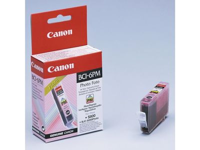 CANON BCI-6PM REFILL MAGENTA PHOTO S8XX/9XX I950 NS (4710A002)