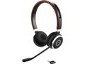 JABRA Evolve 65 MS stereo - headset - on ear - wireless - Bluetooth - with Jabra LINK 360 Adapter