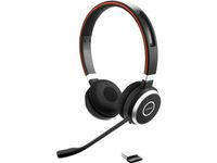 JABRA Evolve 65 MS stereo - headset - on ear - wireless - Bluetooth - with Jabra LINK 360 Adapter (6599-823-309)