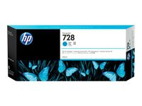 HP Ink Cartridge/ 728 300ml Cyan (F9K17A)