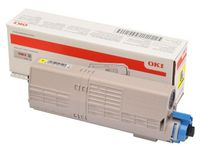 OKI Yellow Toner Cartridge (46490605)