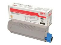 OKI Black Toner Cartridge (46490608)