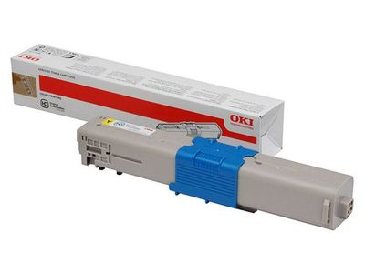 OKI Yellow Toner Cartridge   (46508709)