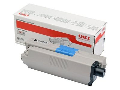 OKI Black Toner Cartridge   (46508712)