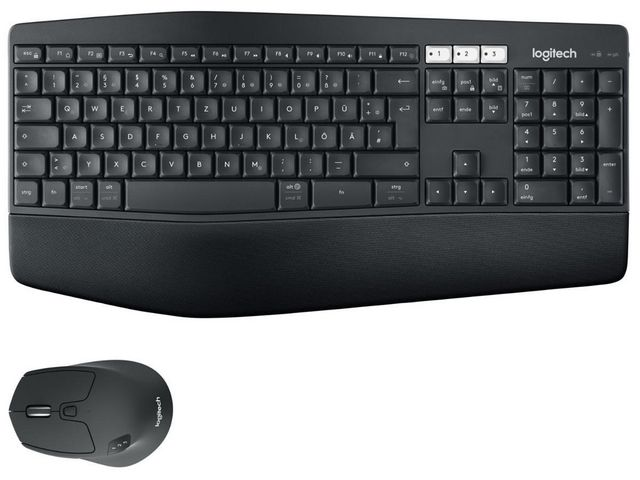LOGITECH MK850 Performance Wireless Keyboard and Mouse Combo - 2.4GHZ BT  (PAN) NORDIC  5871d2071b1ca