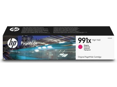 HP PageWide Pro 991X magenta ink cartridge (M0J94AE)