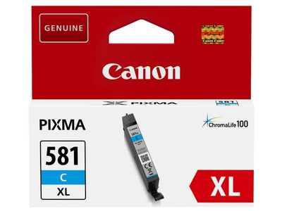 CANON Cyan XL Ink Cartridge  (CLI-581XLC) (2049C001)