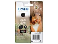 EPSON Singlepack Black 378 Eichhörnchen Clara Photo HD Ink (C13T37814010)