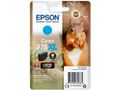 EPSON Singlepack Cyan 378XL Squirrel Clara Photo HD Ink