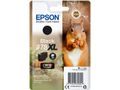 EPSON Singlepack Black 378XL Squirrel Clara Photo HD Ink