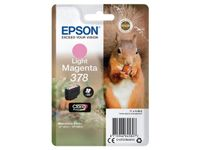 EPSON Singlepack Light Magenta 378 Eichhörnchen Clara Photo HD Ink (C13T37864010)